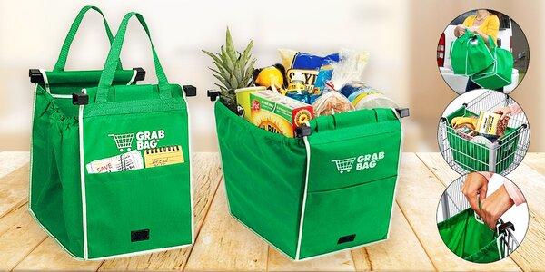 Sada dvou tašek Grab Bag do nákupního košíku