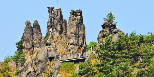 Parním vlakem do Jonsdorfského skalního města