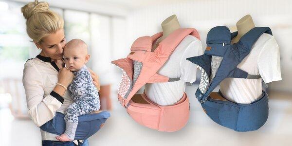 Pro správné nošení dětí: sedáky nebo nosítka