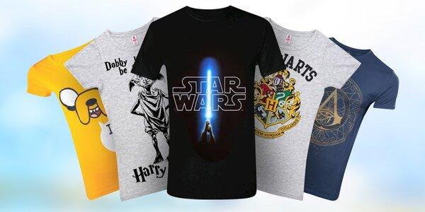 Dámská a pánská trička z filmů, her a animáků