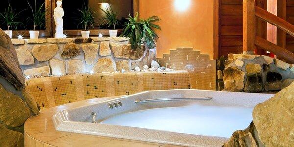 Wellness pobyt u Špindlu: polopenze i římské lázně