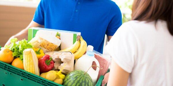 200 Kč na nákup v online supermarketu