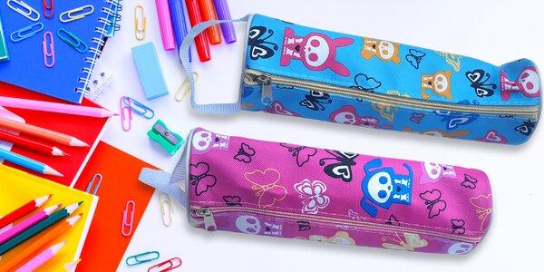 Školní penály - mnoho veselých barevných motivů