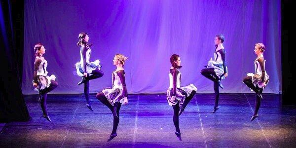2,5hodinová lekce irského tance pro začátečníky