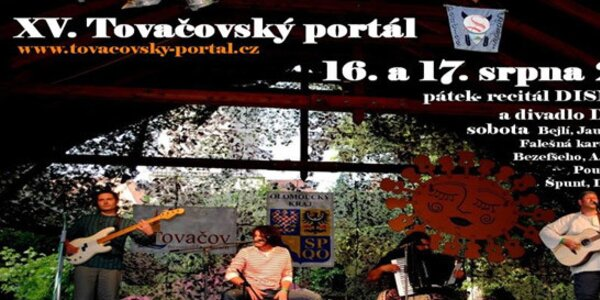 2 lístky na Tovačovský portál