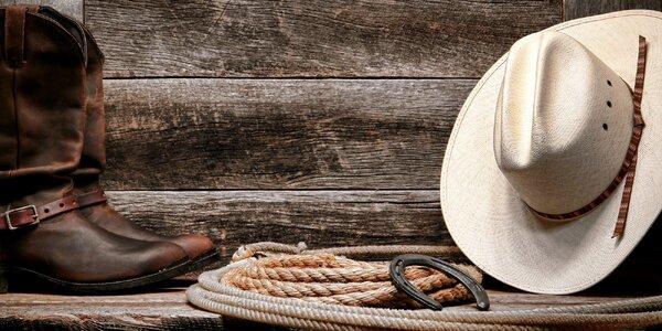 Únikovka Western: 60 min. akce pro 2–5 osob