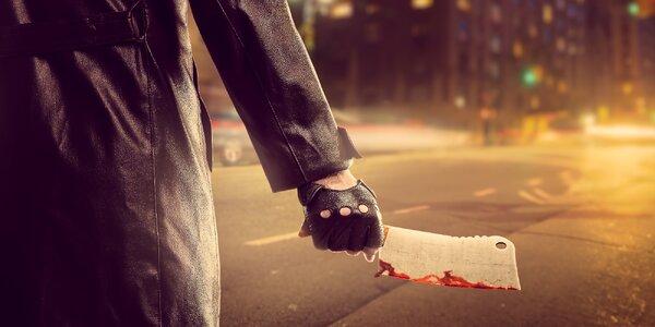 Hodina akce: únikovka Sériový vrah pro 2–5 hráčů
