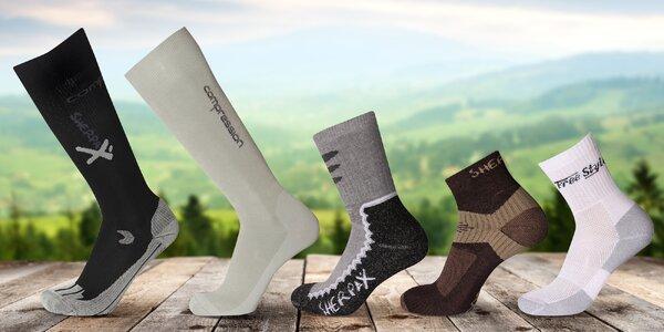 Ponožky a podkolenky SHERPAX: sportovní i zimní