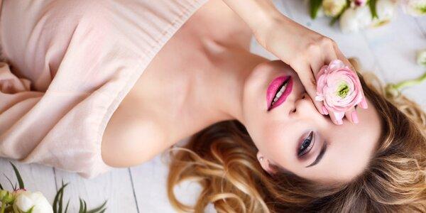 Balíček péče: depilace rtu, úprava obočí i maska