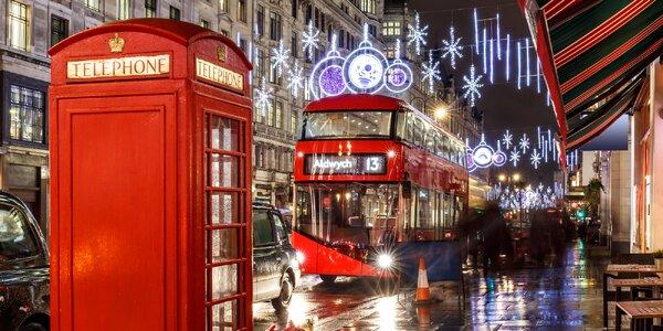 Předvánoční Londýn: letenka, 3–4 noci se snídaní