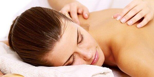 Breussova masáž páteře v délce 45 minut