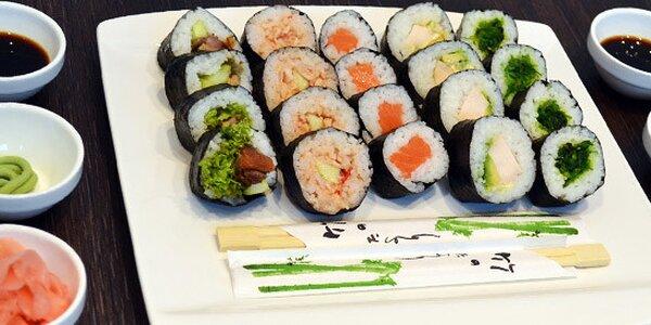 Originální australské sushi v Go Sushi - 3 menu na výběr