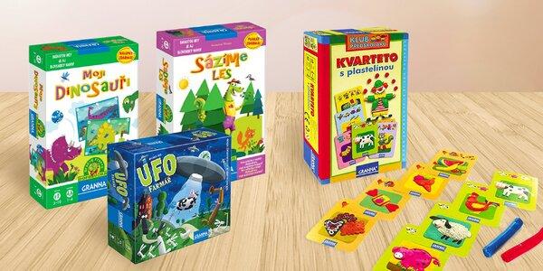 Stolní hry pro děti různého věku