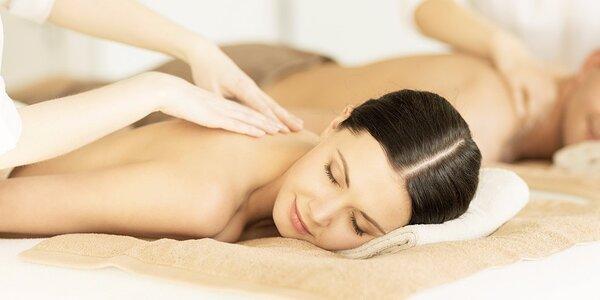 Relaxační párová masáž dle výběru