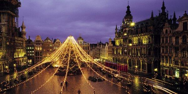 3 noci v adventní Belgii: Brusel, Gent i Bruggy
