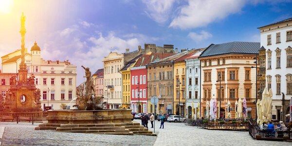 Pobyt pro 2 s poznáním Olomoucka a Kroměřížska