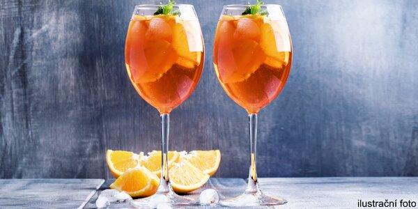 Příjemné osvěžení: Aperol Spritz pro 2 osoby