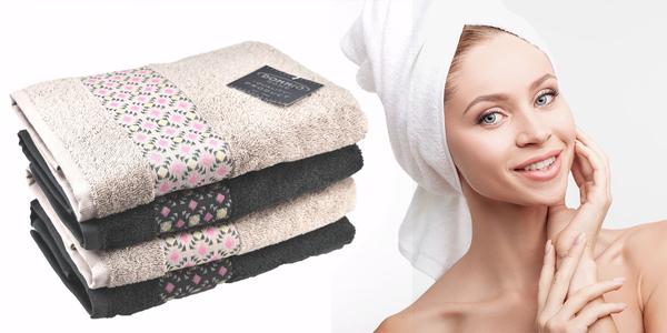Bavlněné froté ručníky a osušky