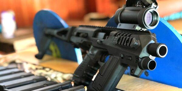 Zážitek na střelnici: Glock 17 i útočná puška