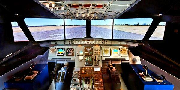 Pilotem dopravního letadla: simulátor A320