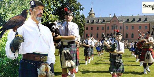 Sobotní vstupenka na Skotské hry na Sychrově
