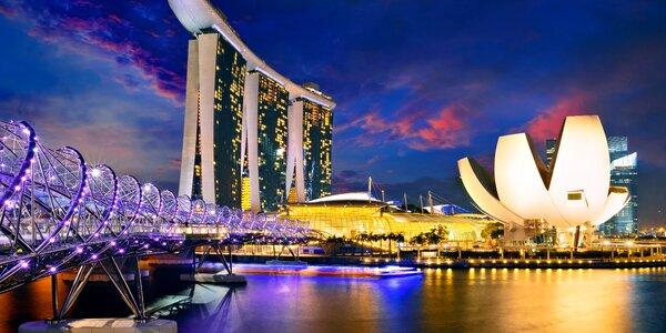 Záloha na zájezd do Singapuru: 6 nocí a průvodce