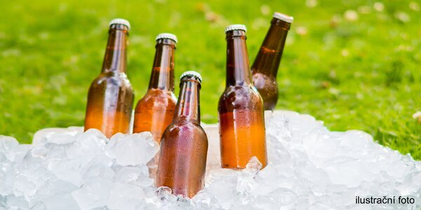 Litr točeného piva v PET láhvi s sebou