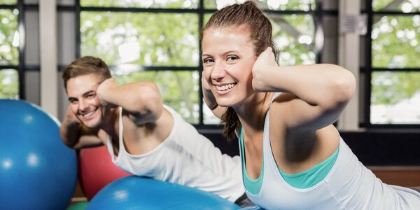 Jedna nebo čtyři individuální fitness lekce