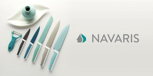 Sada nožů nebo magnetický dřevěný stojan Navaris