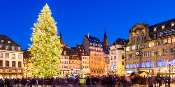 Adventní Štrasburk: prohlídka města a trhy