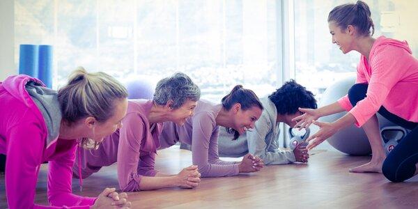Členství v ženské posilovně: 1 měsíc nebo 3