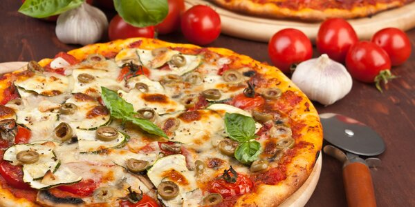 2 křupavé pizzy v Kralupech z pestré nabídky