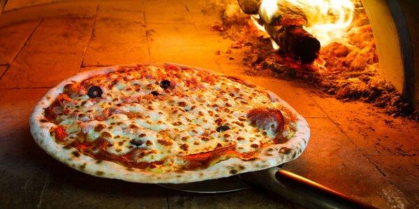 2 křupavé pizzy v Kolíně z pestré nabídky