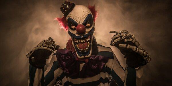 Úniková hra až pro 6 osob v hororovém cirkusu