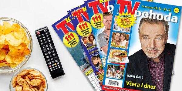 Roční předplatné týdeníku TV pohoda s bonusy