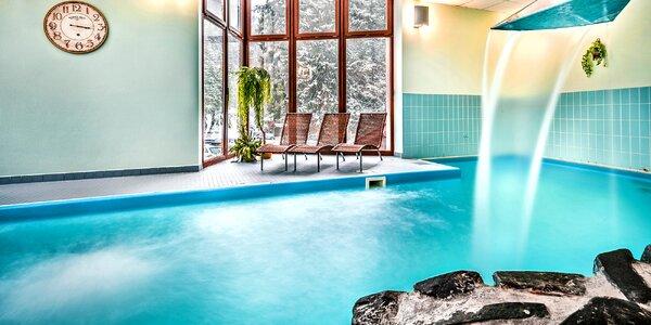 Podzim v Tatrách s bazénem, saunou či vířivkou