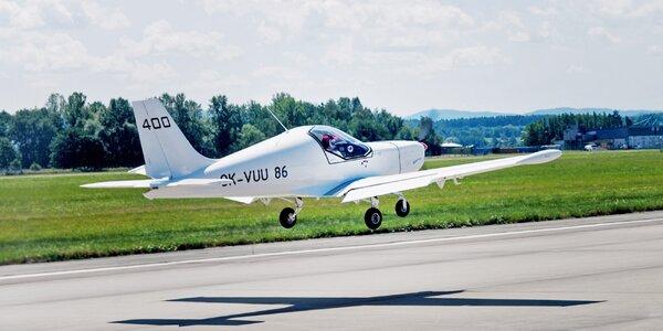 Zážitkový let v ultralightu včetně instruktáže