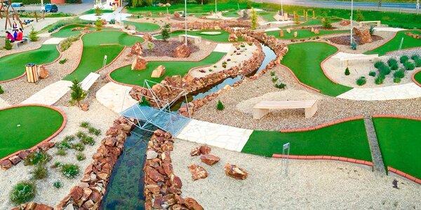 18jamková výzva: zahrajte si adventure golf