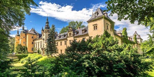 Božský wellness pobyt na polském zámku Kliczkow