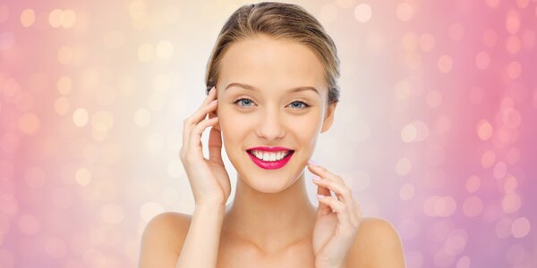 Luxusní 60minutové kosmetické ošetření