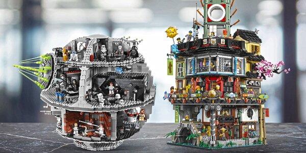 Pronájem exkluzivních stavebnic LEGO® na 1 měsíc