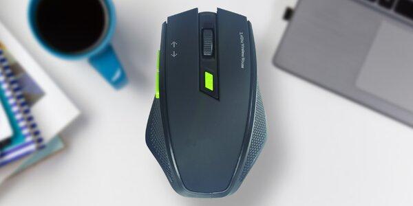 Herní bezdrátová myš LTLM s citlivostí až 1600 DPI