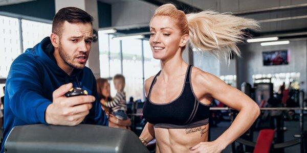 Osobní tréninky ve fitness s profi trenérkou
