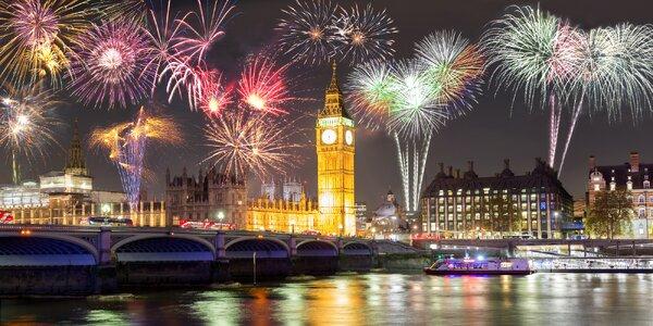 Silvestr v Londýně: doprava i ubytování a snídaně