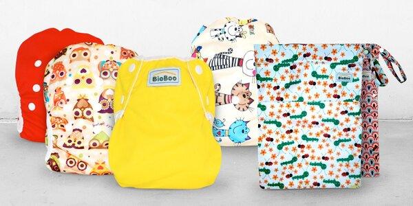 Dětské rostoucí plavky a nepromokavé pytle BioBoo