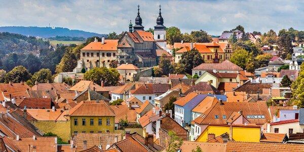 Pobyt v Třebíči se snídaní a privátní vířivkou