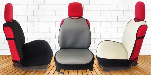 Univerzální autopotah na přední sedadlo