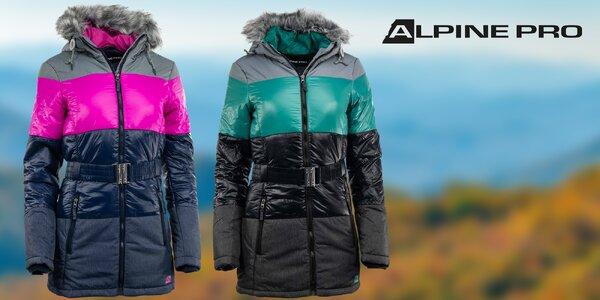 Dámská zimní bunda Alpine Pro s impregnací