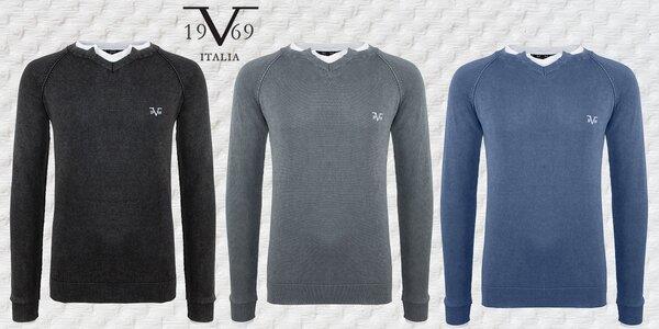 Pohodlné a elegantní svetry prestižní značky 19V69 Italia