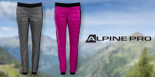 Dámské zateplené kalhoty Alpine Pro